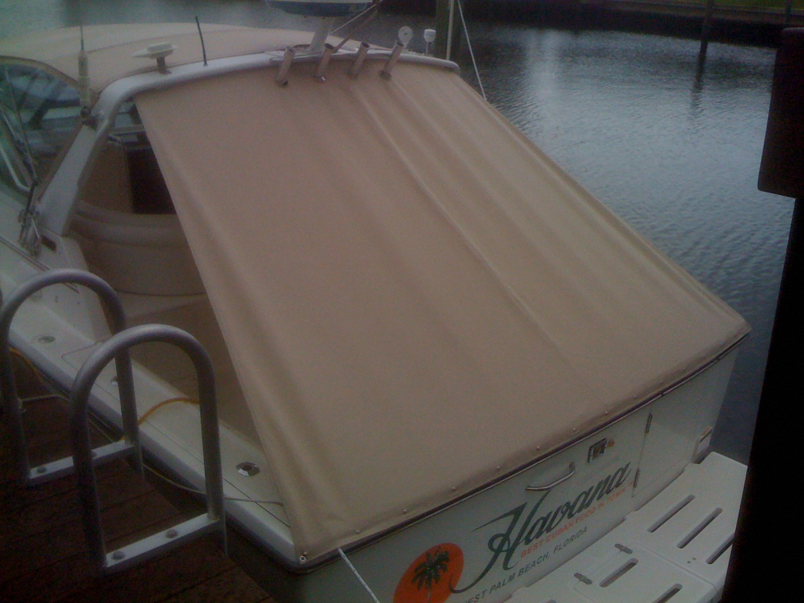 Bow Of A Boat >> Atlantic Marine Canvas, Inc. - AFT CURTAINS